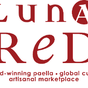 This is the restaurant logo for Luna Red