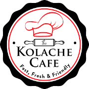 This is the restaurant logo for The Kolache Cafe