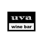 This is the restaurant logo for uva Wine Bar