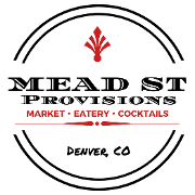 This is the restaurant logo for Mead St Provisions