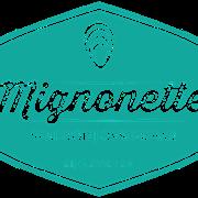 This is the restaurant logo for Mignonette
