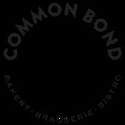 This is the restaurant logo for Common Bond Bakery - Brasserie - Bistro
