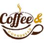 Restaurant logo for Coffee and Cornbread