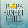 Restaurant logo for Pop's Sunset Grill