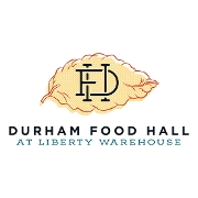 This is the restaurant logo for Durham Food Hall Gift Card - redeemable at any Vendor