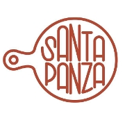 This is the restaurant logo for Santa Panza