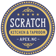 This is the restaurant logo for SCRATCH Kitchen & Taproom