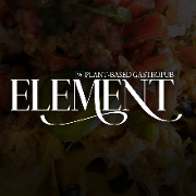 This is the restaurant logo for Element Gastropub