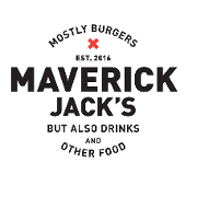 This is the restaurant logo for Maverick Jack's