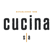This is the restaurant logo for Cucina s|a