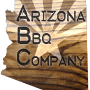 This is the restaurant logo for Arizona BBQ Company