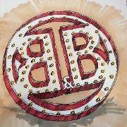 This is the restaurant logo for Bourbon & Baker (GC Account)