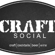 This is the restaurant logo for Craft Social