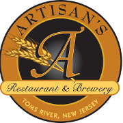 This is the restaurant logo for Artisan's Restaurant & Brewery