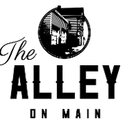 This is the restaurant logo for The Alley on Main