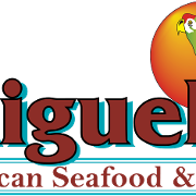 This is the restaurant logo for Miguel's Mexican Seafood & Grill
