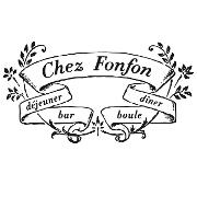 This is the restaurant logo for Chez Fonfon