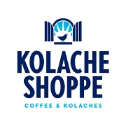 This is the restaurant logo for Kolache Shoppe