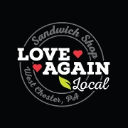 This is the restaurant logo for Love Again Local