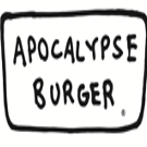 This is the restaurant logo for Apocalypse Burger