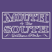 This is the restaurant logo for Mouth of the South