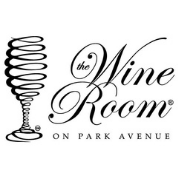 This is the restaurant logo for The Wine Room on Park Avenue