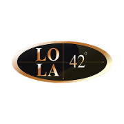 This is the restaurant logo for LoLa 42 Boston