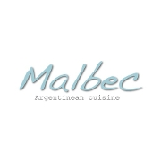 This is the restaurant logo for Malbec Argentinean Cuisine