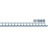 This is the restaurant logo for Offshore Rooftop & Bar