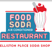 This is the restaurant logo for Elliston Place Soda Shop