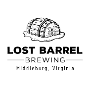 This is the restaurant logo for Lost Barrel Brewing