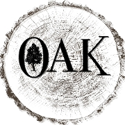 This is the restaurant logo for Oak on Camelback