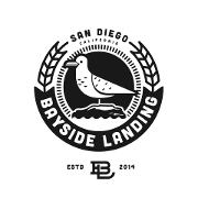 This is the restaurant logo for Bayside Landing
