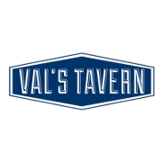 This is the restaurant logo for Val's Tavern