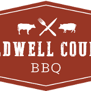 This is the restaurant logo for Caldwell County BBQ