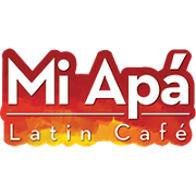 This is the restaurant logo for Mi Apa Latin Cafe