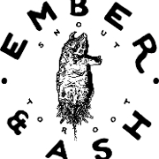 This is the restaurant logo for Ember and Ash Philly