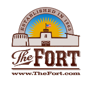 This is the restaurant logo for The Fort