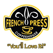 This is the restaurant logo for French Press Coffee