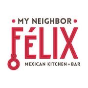 This is the restaurant logo for My Neighbor Felix