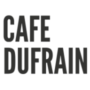 This is the restaurant logo for Cafe Dufrain