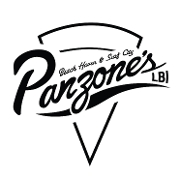 This is the restaurant logo for Panzone's Pizza