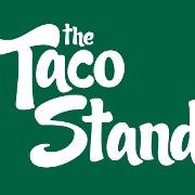 This is the restaurant logo for The Taco Stand