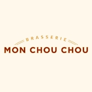 This is the restaurant logo for Brasserie Mon Chou Chou
