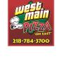 Restaurant logo for West Main Pizza