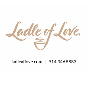 This is the restaurant logo for Ladle of Love - Bronxville