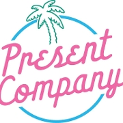 This is the restaurant logo for Present Company