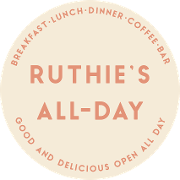 This is the restaurant logo for Ruthie's All-Day