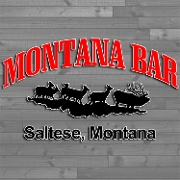 This is the restaurant logo for Montana Bar