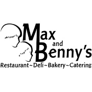 This is the restaurant logo for Max and Benny's Restaurant